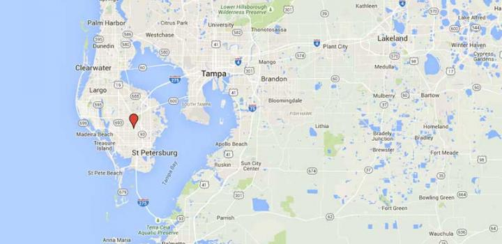 Hillsboro, Hernado and Pinellas Counties